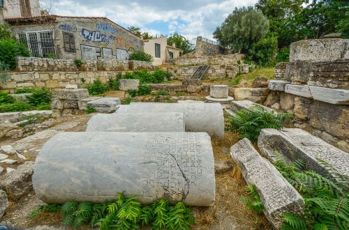 graffiti athens ancient
