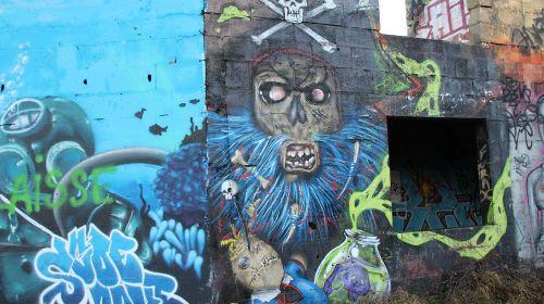 graffiti art street