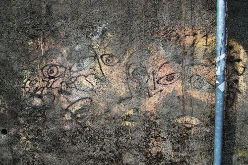 graffiti eyes monitors