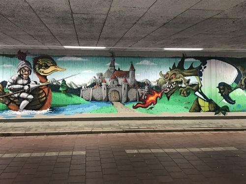 graffiti eindhoven dragons