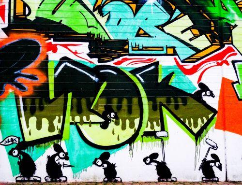 graffiti letters font