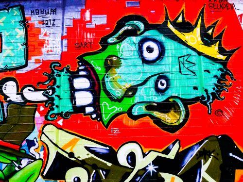 graffiti decoration painted
