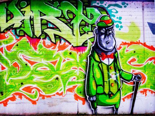 graffiti hat human