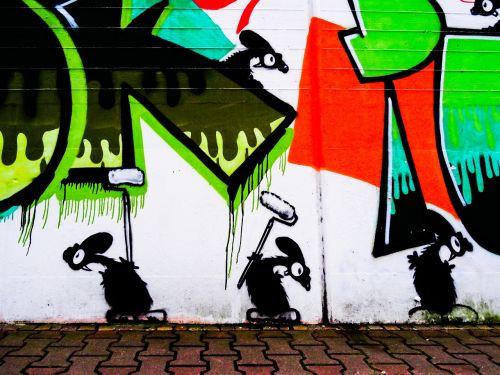 graffiti mouse mice