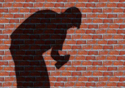 graffiti man wall