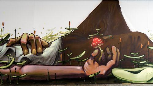 graffiti human decoration