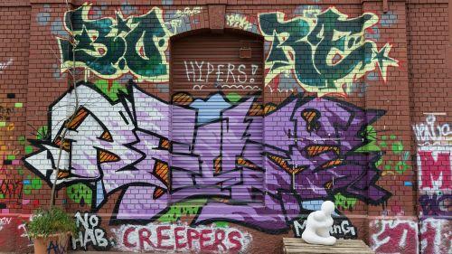 graffiti letters text