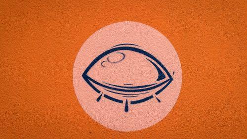 graffiti eye closed eye