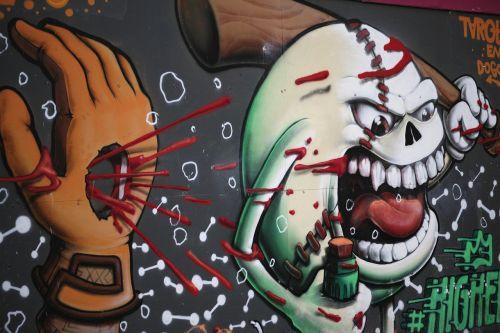 graffiti paint art