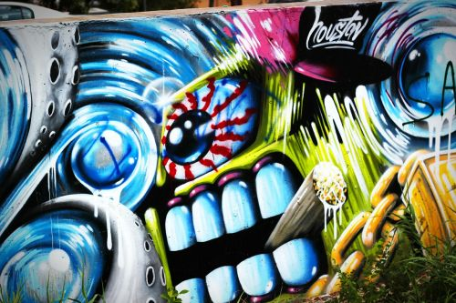 graffiti street art wall mural