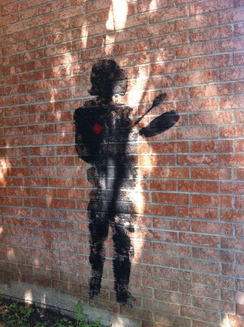 graffiti urban exploration wall mural