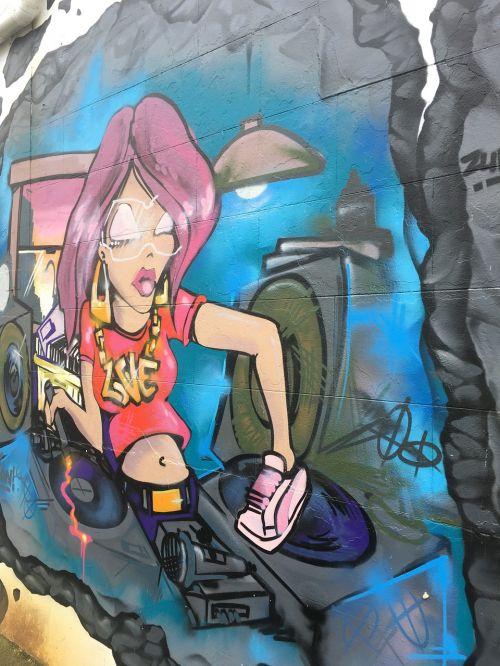 graffiti street art urban