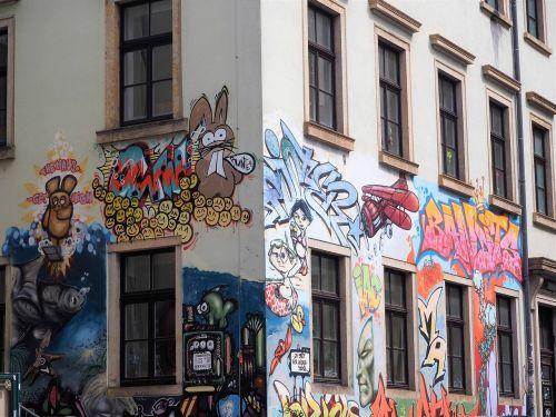 graffiti neustadt dresden