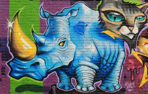grafiti,menas,fjeras