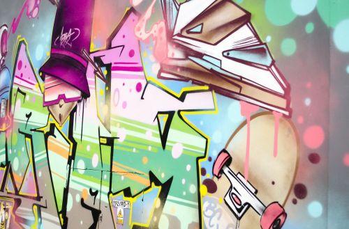 graffiti wall lake dusia