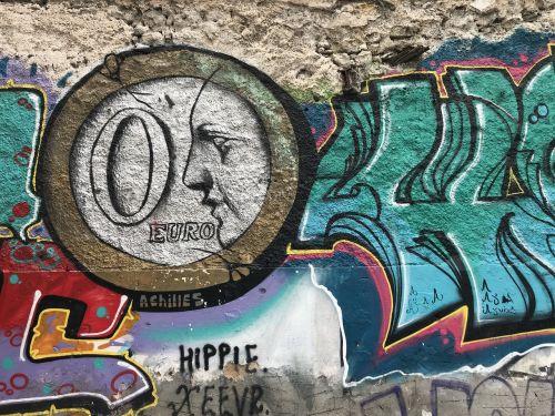 graffiti art wall