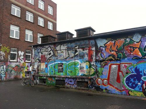 graffiti street art murals