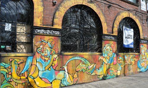 graffiti street art