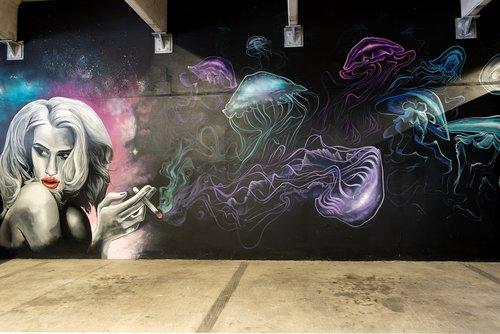 graffiti  mural  streetart