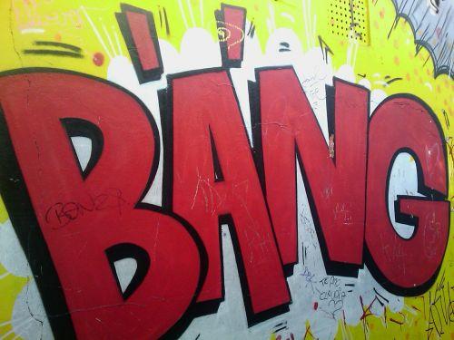 graffiti bang font