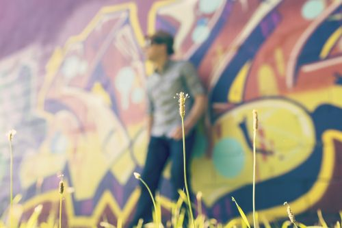 graffiti lifestyle man