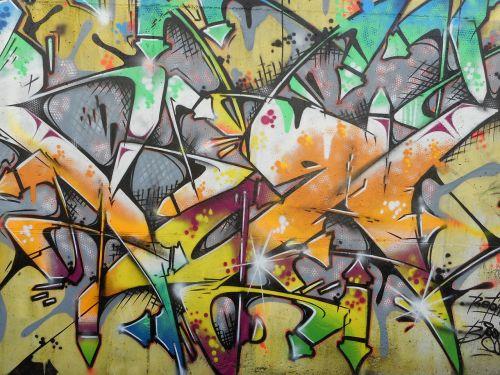 graffiti colorful color