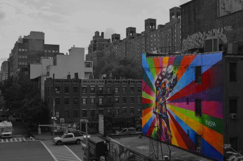 graffiti big city city