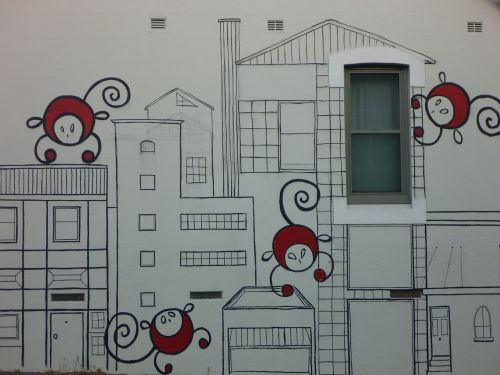 graffiti street art monkeys