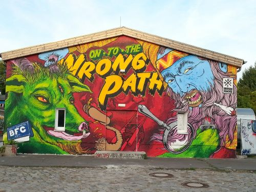 grafiti,komiksas,namai