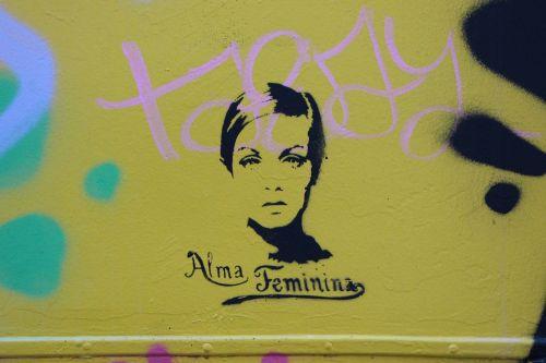 graffiti woman the sentiment