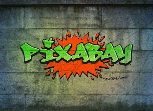 graffiti logo pixabay