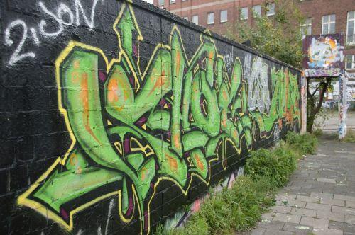 graffiti wall sprayer