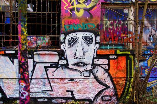 graffiti wall painting spray