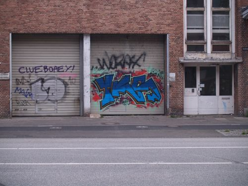 graffiti kiel street