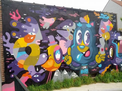 graffiti street street art