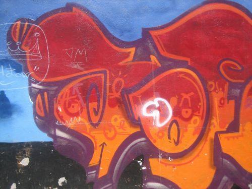 grafiti,barcelona,fjeras