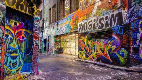 graffiti street art street