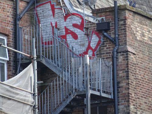 Graffiti Fire Escape