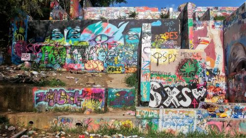 graffiti wall austin texas austin