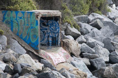Graffiti Water Drain