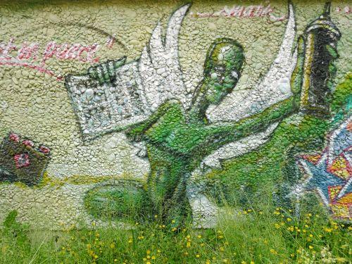 graffitty augsburg green