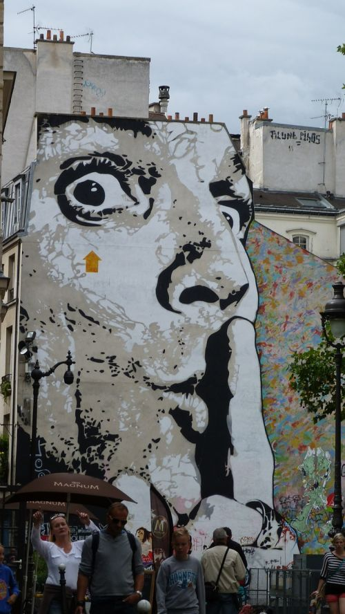 graffity hauswand house facade