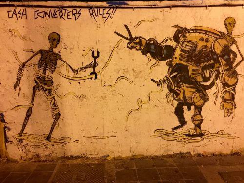 grafitti streetart tagging