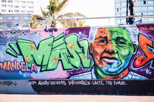 graffiti nelson mandela mandela