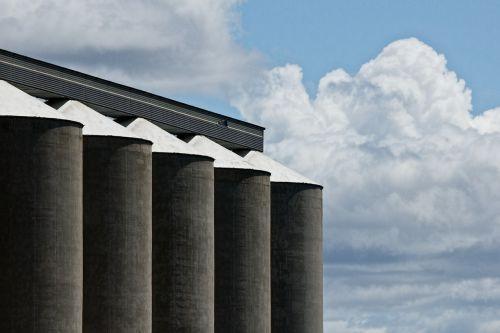grain silo corn storage