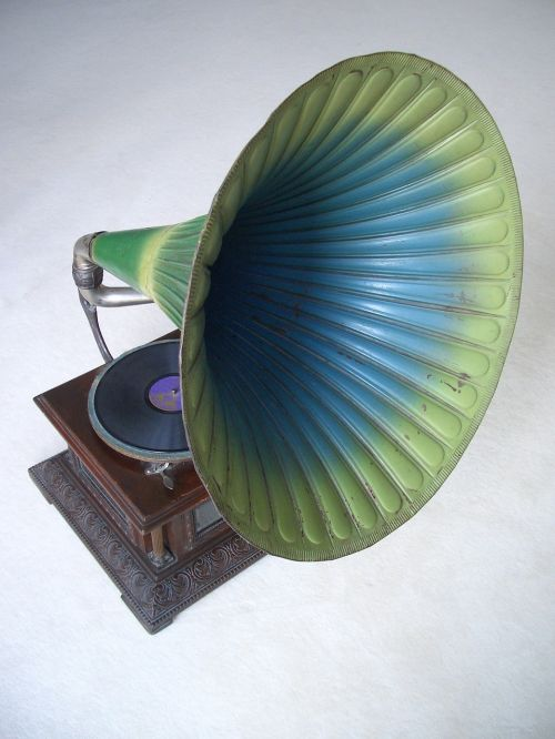 gramophone record music