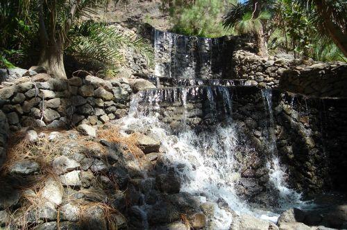 Gran Canaria,palmitos parkas,krioklys,parkas,gamta,akmenys,Ispanija