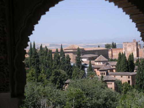 granada spain alhambra