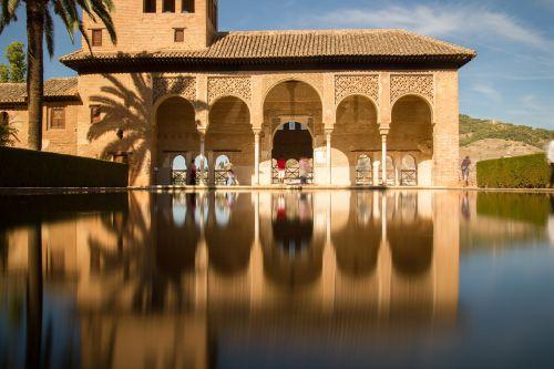 granada alhambra the partal