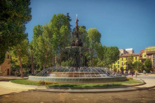 granada fountain spain